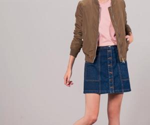 bomber, clothing, and jacket image
