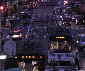 city, japan, and night image