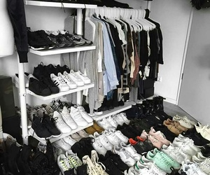 shoes, clothes, and goals image