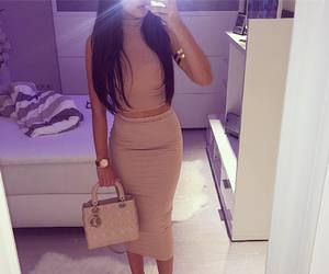 fashion, outfit, and Nude image