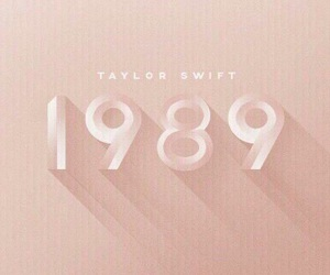 1989, Taylor Swift, and rose gold image
