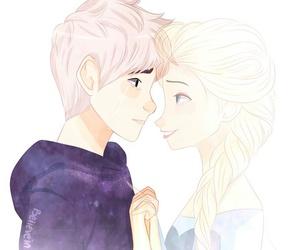 cute, love, and jelsa image