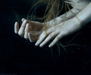 water and hands image