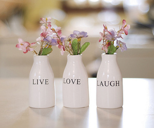 love, flowers, and live image