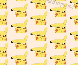 background, follow, and pikachu image