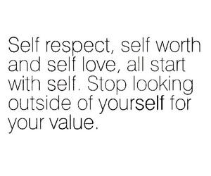 self love, deep quotes, and well said image