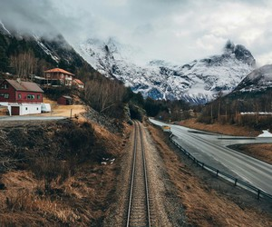 mountains, nature, and travel image