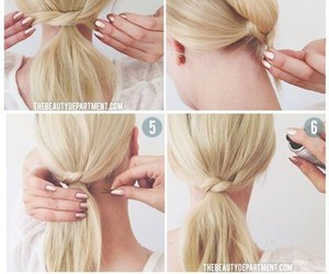 diy, hair style, and do it yourself image
