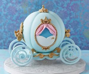 cake, cinderella, and food image