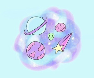 background, planets, and tumblr image