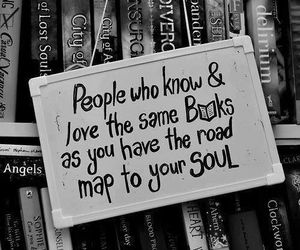 book, soul, and quotes image