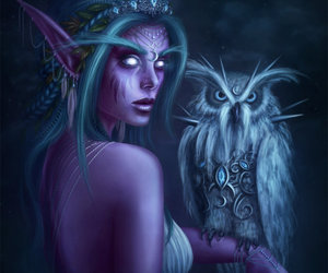 warcraft and tyrande image