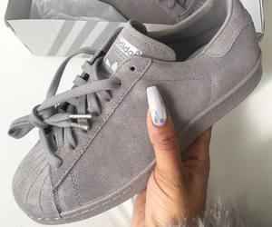 adidas, shoes, and grey image