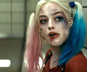 suicide squad, margot robie, and harley quinn image