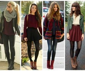 autumn, beauty, and fashion image