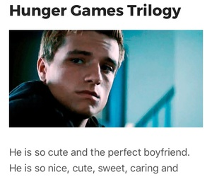 the hunger games, catching fire, and josh hutcherson image