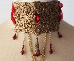 bridal necklace, etsy, and vintage wedding image