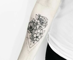 alternative, flowers, and outline image