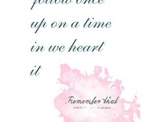 follow, pink, and quotes image