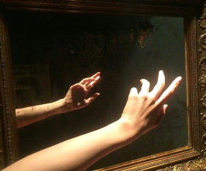 aesthetic, art, and hand image