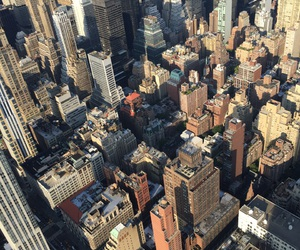 empire state, top of the rock, and new york image