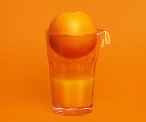 orange, aesthetic, and minimalism image
