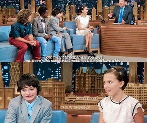 dustin, eleven, and funny image