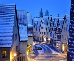 snow, winter, and germany image