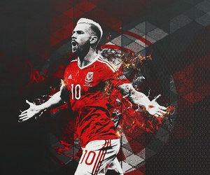 Arsenal, soccer, and wales image
