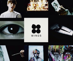 wings, hyyh, and jungkook image