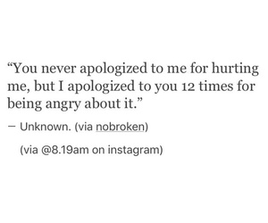 Apologise, Hurt, And Quote Image