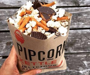 food and popcorn image