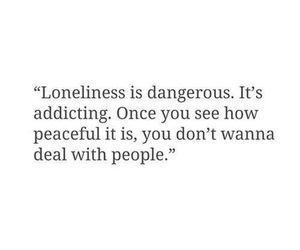 quotes, loneliness, and people image