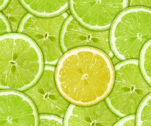 wallpaper, lemon, and green image