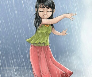 rainy day and dancing in the rain image