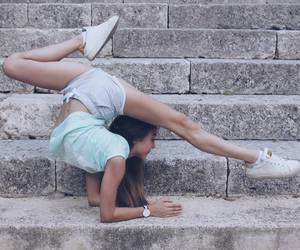 dance, flexible, and girl image