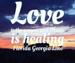 country music, healing, and Lyrics image