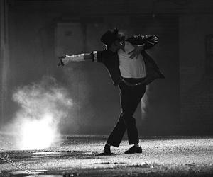 michael jackson, dance, and black or white image