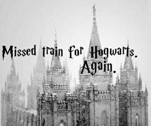 harry potter, hogwarts, and train image