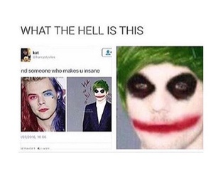 funny, harley quinn, and the joker image