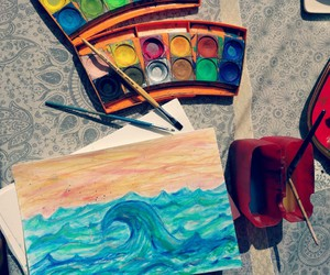 art, hipster, and colours image