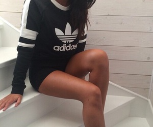 Queen, swag, and adidas image