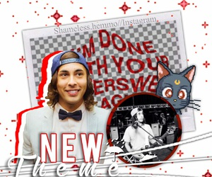 pierce the veil, vic fuentes, and theme divider image