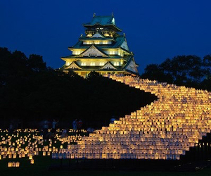 japan, light, and beautiful image