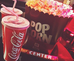 centre, cinema, and cocacola image