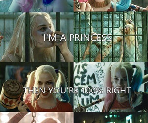 harley quinn, Queen, and tumblr image