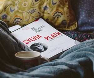 book, poem, and cozy image