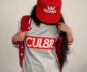girl, supra, and swag image