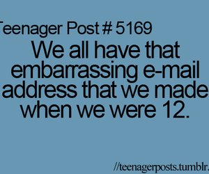 teenager post and e-mail image