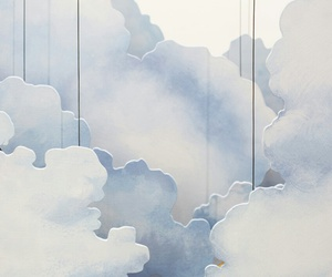 clouds, blue, and white image